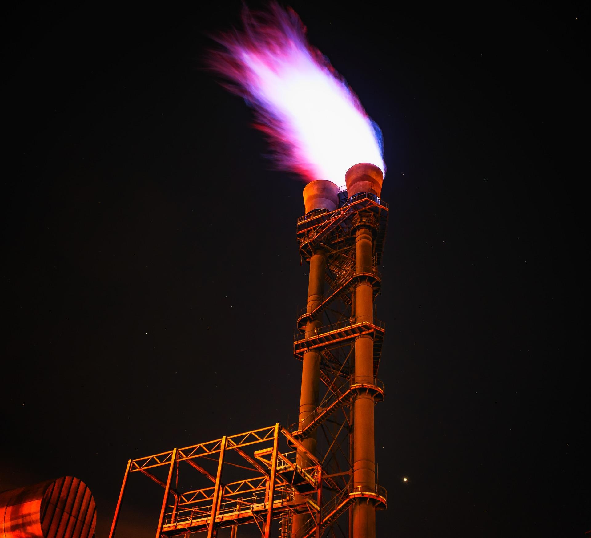 taśma ostrzegawcza gaz